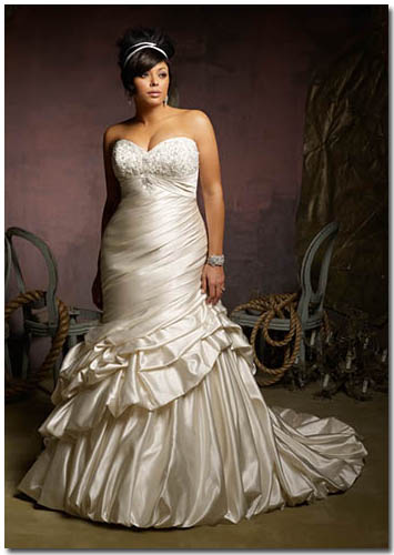 Mori Lee Julietta Plus Wedding Dress 3125