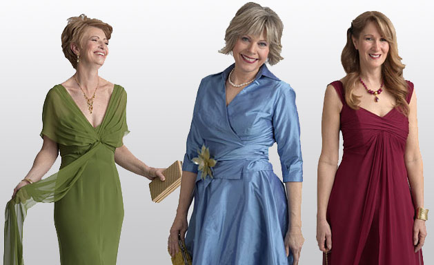 Five Mother Of The Bride Dresses That Make You Look Slimmer