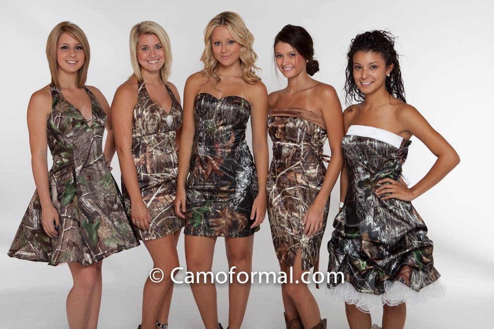 Camo Wedding Attire
