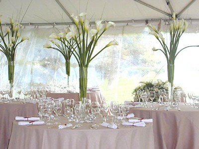 Ten inexpensive wedding centerpieces you can make yourself wedding centerpieces junglespirit Image collections