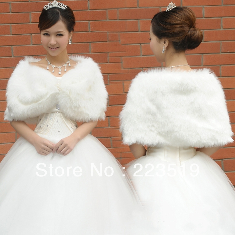 Wholesale Bridal Shawl Longhaired Warm Winter Font