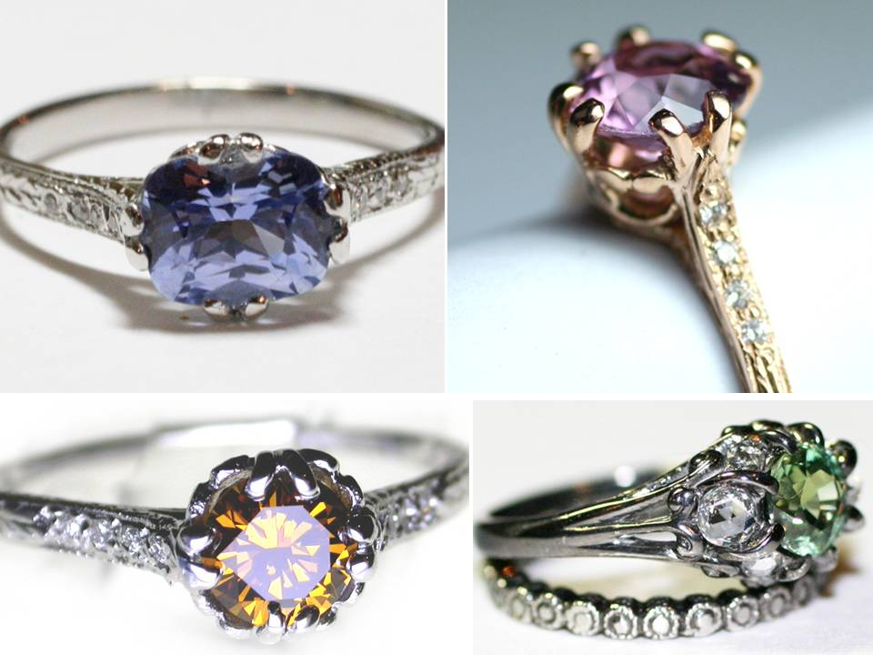 non diamond engagement rings 2011 sapphire royal wedding - Non Diamond Wedding Rings