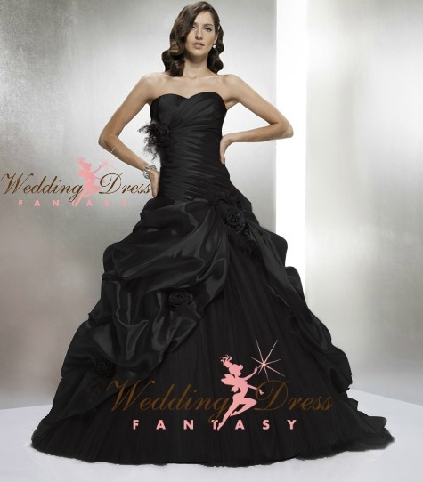 Black Wedding Gowns: 8 Breathtaking Black Wedding Dresses For The Unique Bride