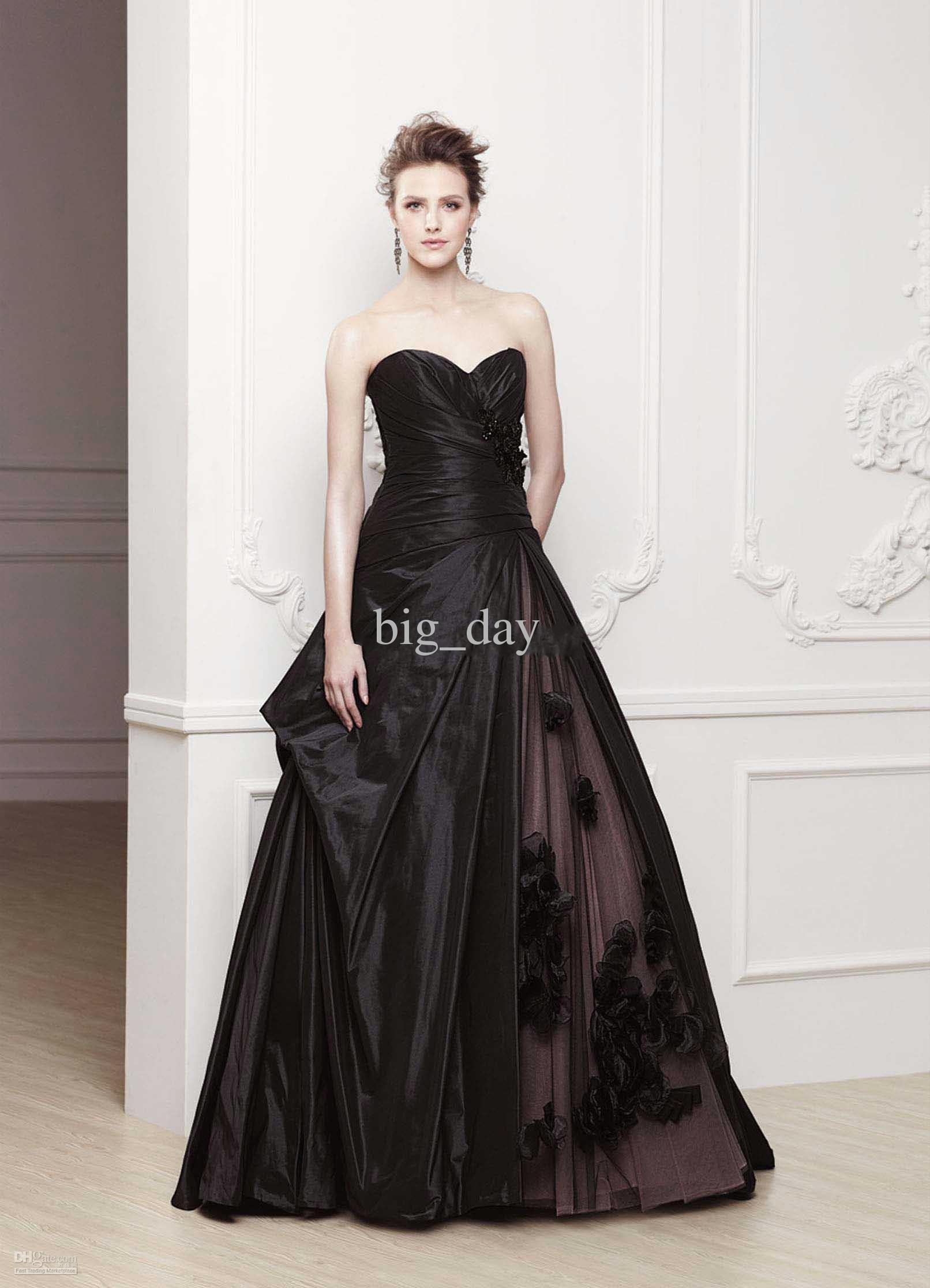 8 Breathtaking Black Wedding Dresses For The Unique Bride