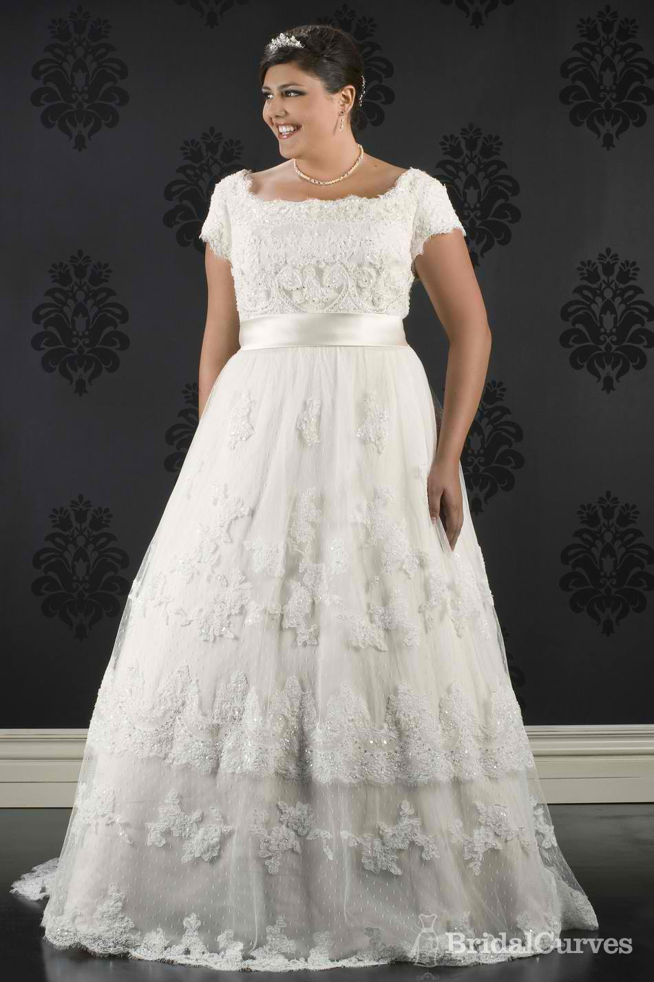 Modest Plus Size Wedding Dresses - Wedding Short Dresses