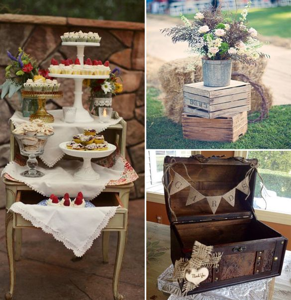 Vintage Theme Wedding Themes For Summer