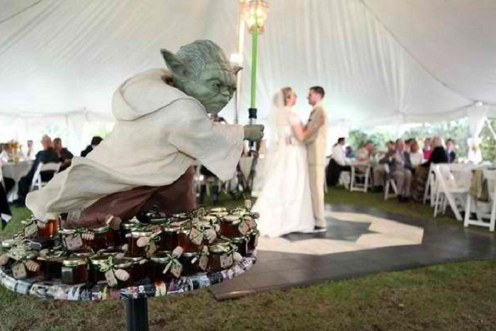 ultimate geek wedding