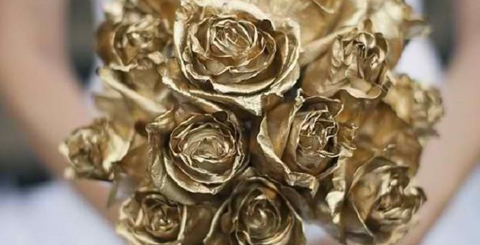 wedding in gold