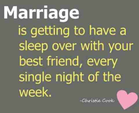 marrying your best friend quote