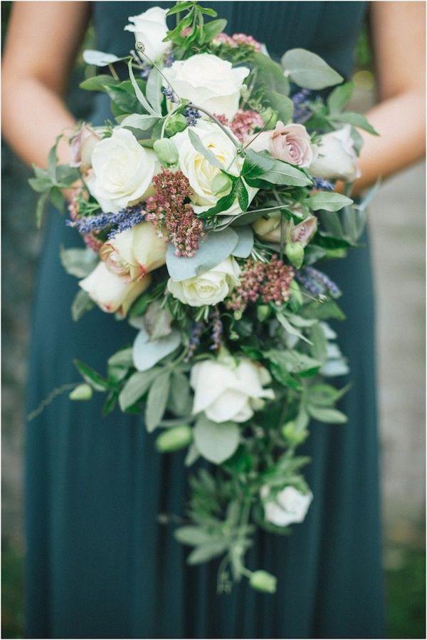 Cascading Wedding Bouquet