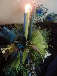 1. Candle Lit Feathers