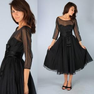 1. The Retro Vintage Dress