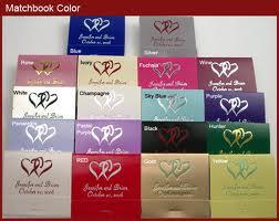 10. Personalized Matchbooks