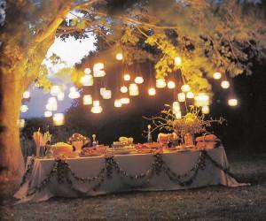 2. Hanging Lanterns