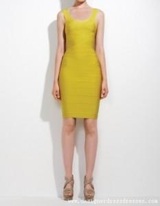 2. Knee Length Bandage Dress