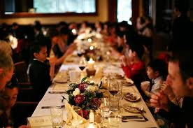 3. Restaurant Style Wedding