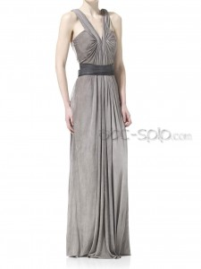3. Vintage Style Dresses for Bridesmaids in Gray Tones