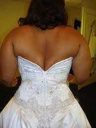 3. Wedding Dresses That Don't Quite Fit