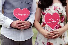 3.  Wedding... Surprise!