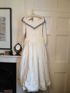 4. Homemade Wedding dresses