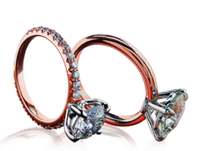 5. Custom Rose Gold Engagement Rings