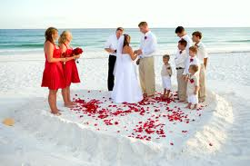 5. Let's Get Married On The Beach