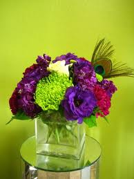 5. Small And Colorful Center Table Piece