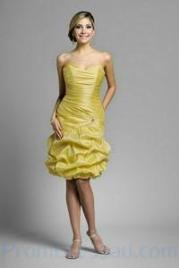 6. Short & Strapless Bridesmaid Dresses