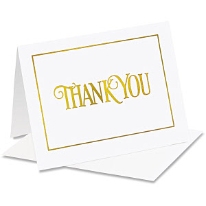 6. Thank You Cards for All Gifts