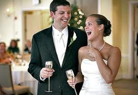 6. The Bride Can Have A Humorous Side Too