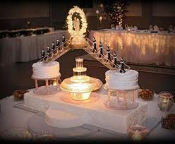 red and white wedding cakes with fountains top 10 fabulous wedding cakes with fountains to add style 19103