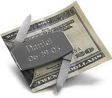 8. Engraved Money Clip
