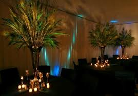 8.  Tall And Proud Centerpieces