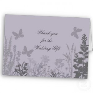 9. Printed Thank You Cards