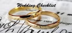Ten Last Minute Wedding Day Checklist Items