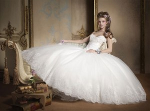 Top Ten Ball Gown Wedding Dresses for Your Princess Wedding