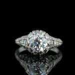 3. Simple Diamond Ring