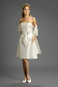 3. Tea Length Gown