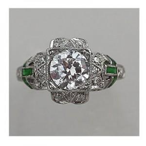 5. Emerald Accents