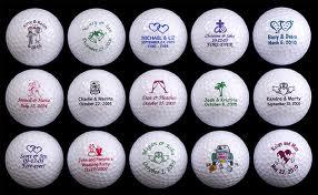 5. Wedding Golf Balls