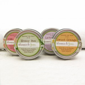 6. Honey Bee Lip Balm