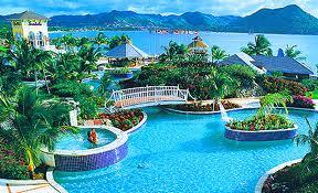 6. Sandals Grande, St. Lucian