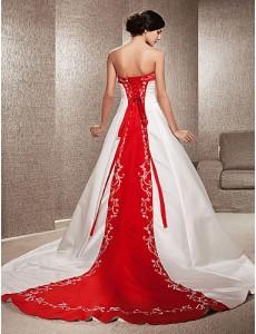 7. Chapel Train Wedding Dress