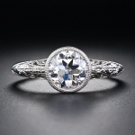 7. Circular Diamond Ring