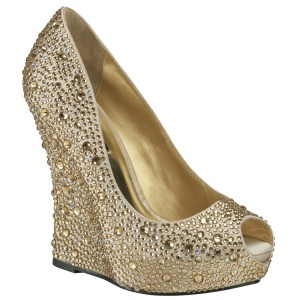 7. Gold Wedges