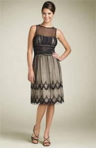 8. Beaded Cocktail Dress
