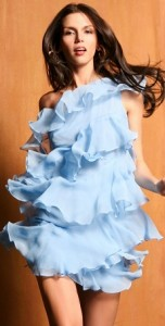 8. Cocktail Dress with Ruffle