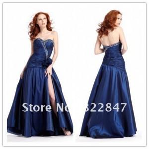 8. Taffeta Ball Gown