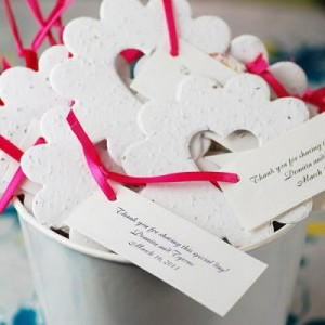 9. Bucket of Love Seed Favors