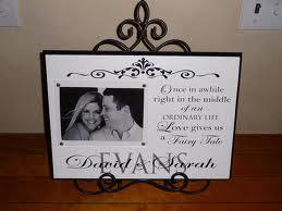 9. Custom Wedding Photograph Frame